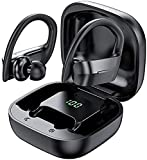 SHENXI Auriculares Bluetooth Deportivos,Auriculares Inalambricos, IPX7 Impermeable Cascos Bluetooth In-Ear Auriculares Wireless Running con Mic